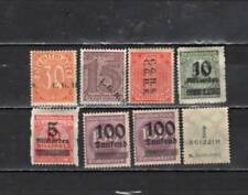Germany - overprint Error Unused  Stamps (GER241)