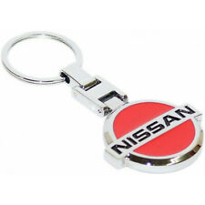 Keychain steel for Nissan - red