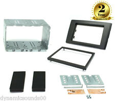 CT23VL03 CD Stereo Double Din Black Fascia Fitting Kit For Volvo XC90 2006-2014
