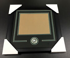 PHILADELPHIA EAGLES Medallion Frame Kit 8x10 Photo Double Mat HORIZONTAL
