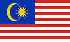 Malaysia 3' X 2' 3ft x 2ft Flag With Eyelets Premium Quality