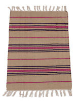 ( Machine washable 30° )Kilim Original Authentic Hand Made 80x50 CM