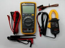 Fluke 17B+ Digital Multimeter+AC Transducer with 2 gifts