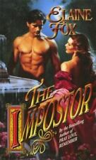 Timeswept: The Impostor by Elaine Fox (1999, Paperback)