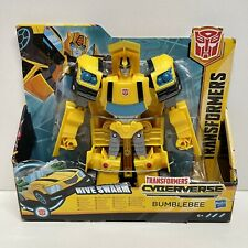 HASBRO Transformers CYBERVERSE ULTRA CLASS [HIVE SWARM BUMBLEBEE] Action Figure