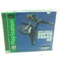 Jeremy McGrath Supercross 98 PS1(Sony PlayStation 1,1998)