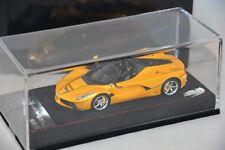 BBR BBRC187B  - Ferrari LaFerrari Aperta Jaune Tristato 2016 1/43
