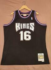 Peja Stojakovic Sacramento Kings Hardwood Classics Throwback NBA Swingman Jersey