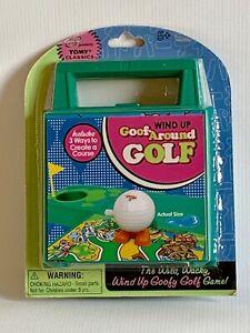 Vintage Tomy Wind Up Goof Around Golf New in Box