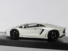 Lamborghini Aventador LP 700-4 Année de construction 2013 1 Blanc 43 Welly GTA