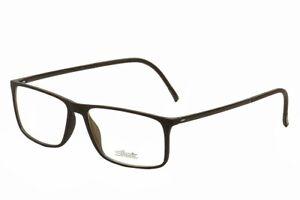 Silhouette Men's Eyeglasses SPX Illusion 2941 (2892) 6050 Black Optical Frame