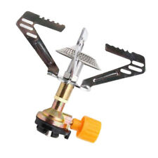 Ultralight Gas Stove Single Burner Backpacking Stove Adjustable for Camping