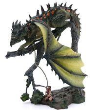Green Dragon Gargantuan D&D Mcfarlane Dungeons & Dragons Pathfinder RPG Woman