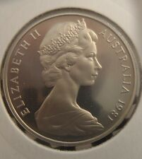 1981 20 cent proof coin removed from proof set