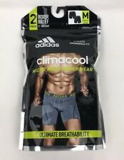 adidas Climacool Micro Mesh Underwear 2 pack Black Boxer Brief Size M 32-34 New
