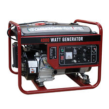 4000W Gasoline Generator 4 Stroke 208cc Air Cooled Gas Powered Portable EPA New