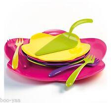 Zak Design Sweety 10er-kuchenset Tortenplatte Dessertteller Gabeln Tortenheber