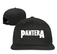 892d2288785 Pantera Band Unisex Adjustable Flat Trucker Baseball Cap Black