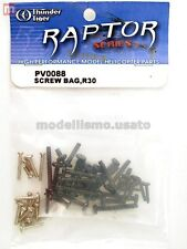 Thunder Tiger PV0088 Viti Raptor R30 Screw Bag modellismo