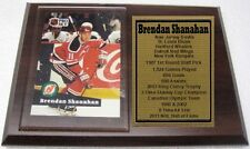 New Jersey Devils Brendan Shanahan Hockey Card Plaque