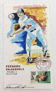 Fernando Valenzuela Wild Horse Cachets HP Event Cover 6/29/90 #63/75