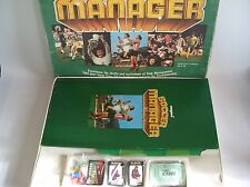 VINTAGE SOCCER MANAGER BOARD GAME 1976 BY CAPRI *CONTENTS IN GOOD CONDITION