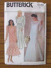 BUTTERICK PATTERN - 4414 WEDDING DRESS SLIP VEIL BRIDESMAID SIZE 14 BRIDE UNCUT