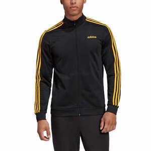 SALE! Adidas Men's Tricot Track Jacket Full Zip 3-Stripe Sleeves VARIETY! K52