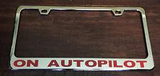 Tesla Motors Personalized Die Cast Metal License Plate Frame