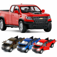Chevrolet Colorado ZR2 Pickup Truck 1:32 Model Car Diecast Gift Toy Vehicle Kids
