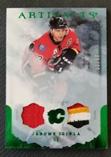 2010-11 UD ARTIFACTS JAROME IGINLA JERSEY PATCH #ED 12/50 JERSEY NUMBER