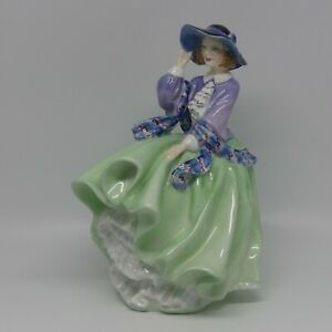 Royal Doulton figurine Top O' The Hill HN1833 GREEN   UK made   early version