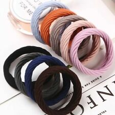 5Pcs/Sets Elastic Rubber Hair Ties Band Rope Ponytail Holder Resilience Seamless