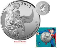 2015 SILVER $20 SUPERMAN COIN