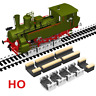 4 X HO SCALE ROLLERS W/ WHEEL CLEANING ACCESSORIES