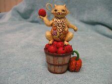 New ListingJim Shore Heartwood Creek Mini Fall Cat Collectible Figurine