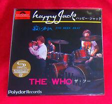 The Who Happy Jack / I've Been Away 7 Inch SHM MINI LP CD JAPAN UICY-78497