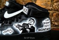 Custom Nike Air Force 1 size 7,8,9,10,11,12, white black any size NikeAirForce1