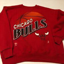 Vintage 1990's Chicago Bulls Lee Sweat Shirt pullover L EUC Multi-color MJ 23