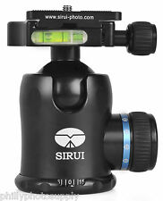 SIRUI K-30x Aluminium Ballhead 44 Mm Including Mounting Plate and Bag