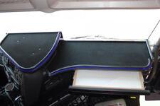 Iveco Stralis Hi-Way adattarsi 2x cruscotto da tavolo Velour nero blu