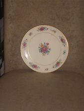 "Rare Vintage Lenox Compote Sandwich Plate ""Lenox Rose"" Gold Trim Old Green Mark"
