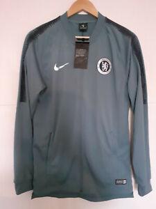 Original Fussball Nike Herren FC Chelsea Trikot Trainingsjacke Jersey Gr. S