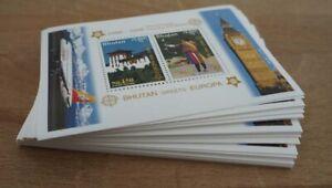 2006 Bhutan; 100 Blocks Europa, Bl. 477A, postfrisch/MNH, ME 2000,-