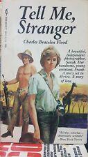 Tell Me Stranger by Charles Bracelen Flood (1971 Paperback)