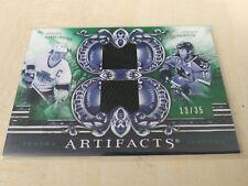 Wayne Gretzky Joe Thornton 2010-11 Artifacts Tundra Tandems Dual Relic #13/35