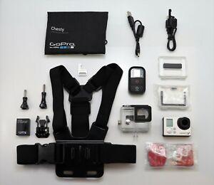 GOPRO HERO 3+ PLUS BLACK EDITION 1080P 4K CAMCORDER HD VIDEO CAM & WI-FI REMOTE
