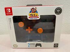 PowerA Enhanced Wireless Controller Nintendo Switch CTR Shadow Crash Team Racing