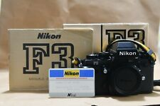 Nikon f3 hp, garanzia nital , perfetta con imballi