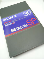 Sony Betacam SP BCT-30MA 30 Minutes Metal Video Cassette Tape with Case - NEW